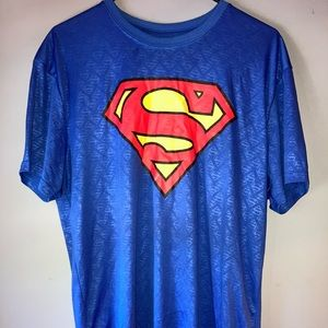 Men's Superman Reflective Dri-Fit T-Shirt